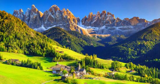 Интересные факты об Альпах