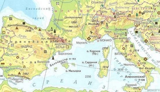 Интересные факты о Южной Европе