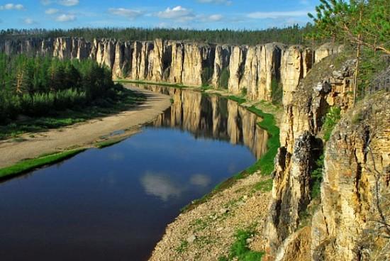 Факты о реке Лена