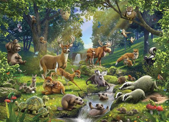 Факты о лесных животных