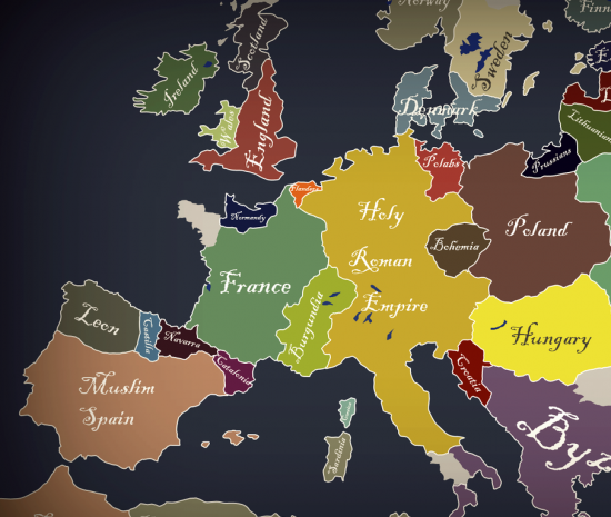 Факты о Европе
