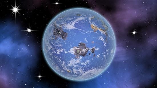Странная планета
